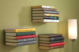 The 'Conceal Book Shelf' Makes One a Reading Magician