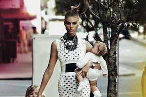 Maryna Linchuk Stars in a Chic Editorial for Vogue Russia May 2012