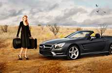 Wizard of Oz Auto Shoots - The 'Icons of Style' Mercedez-Benz Film by Alex Prager is Theatric