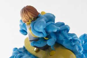 'LEGO Surfer' by Alberto Seveso is Playful