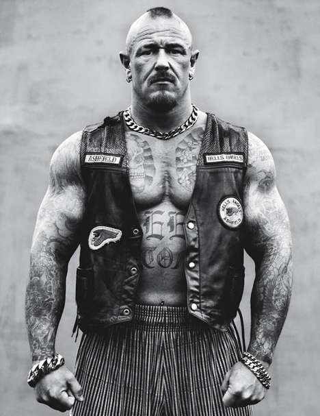 Hell's Angels Portraits - Andrew Shaylor Lenses Badass Bikers Across America
