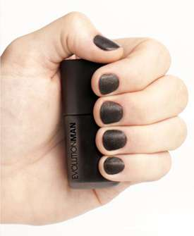 Male-Specific Polish - The 'Indashio Black' Evolutionman Lacquer is for Men