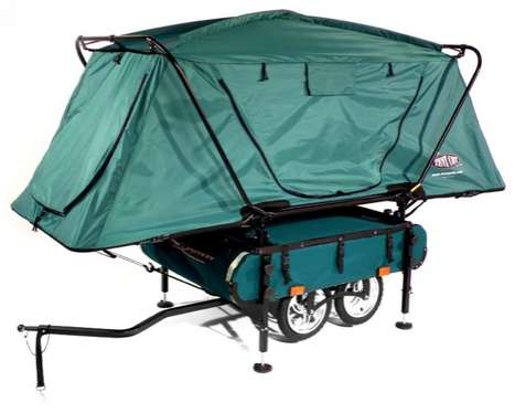 midget bushtrekka bike trailer