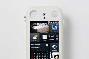 The Jamie Hayon & iida 'Fusion' Phone has a Built-In Clock