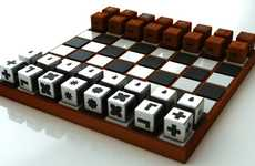 Blindness-Inspired Board Games - The Duncan McKean Chess Set Ensures that Everyone Can Play