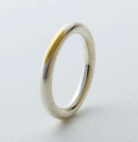 torafu architects gold wedding ring