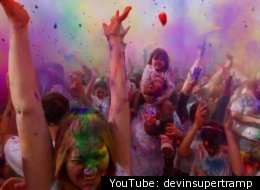 captivating holi videos