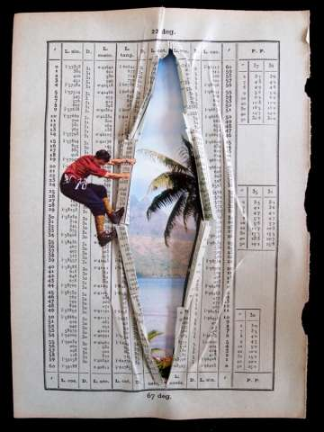 Brilliant Book Collages