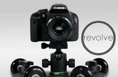The Revolve Camera Dolly Serves All Videography Purposes