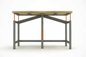 The 'Earthquake Proof Table' is Lightweight but Sturdy