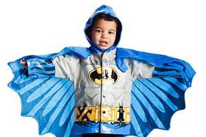 The 'Kids Superhero Raincoats' Fight Rain and Crime