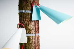 The Pit Out Tree Lights by e27 Brings Elegance to the Outdoors