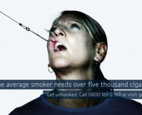 shocking anti smoking campaigns