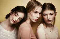 Flirty Sister Photoshoots -  'The Virgin Suicides' Inspires the Playing Fashion Editorial