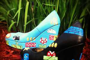 The 'Super Mario Wedge Heels' Will Stomp Out Goombas
