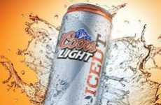 Cuppa-Infused Booze - The Coors Light Iced T is the First Ever Extension of the Brand