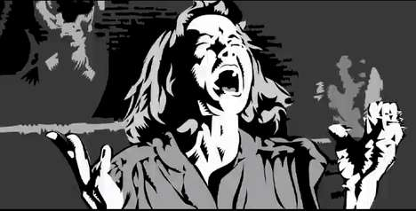 evil dead 2 rotoscoped trailer