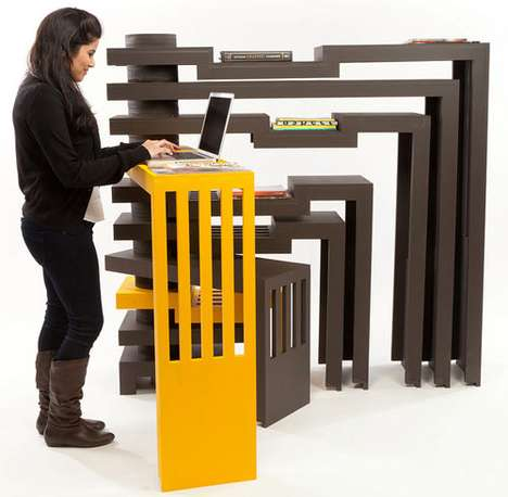 Modular Multipurpose Furniture - 'Prototyping the Domestic Environment