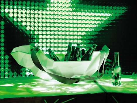 heineken pop up nightclub