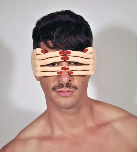 Funky Finger Shades - The 'Jeremy Scott Flesh Hands' are Eccentric and Manicured