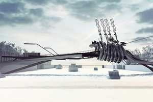 The 'Amsterdam bridge V' Produces Its Own Energy