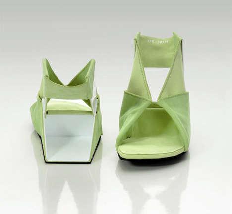 Folding Flat-Pack Footwear