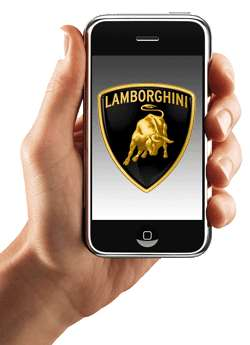 Lamborghini Touch-Screen Phone