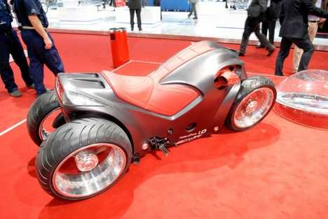 Four-Wheeled Motorcycle