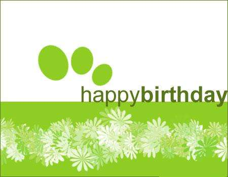 Green & Charitable Birthdays