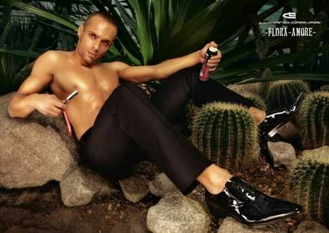 Hot Men's Shoes Campaigns - Luciano Carvari SS08 Flora Amore Ads