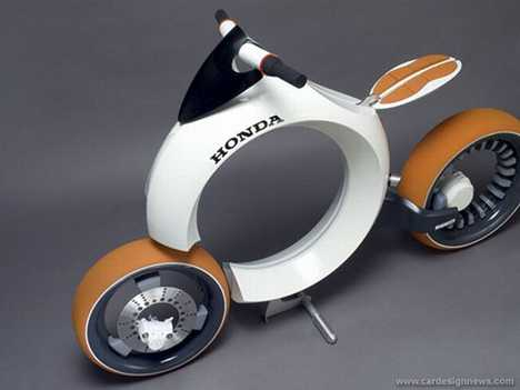 Hydrogen Fuel Cell Motorcycle - Honda Cub Motocycle