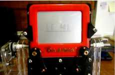 Etch-A-Sketch Clock
