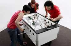 Electric Magnetic Foosball