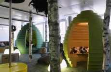 Work Space Playgrounds - Google Office in Zurich