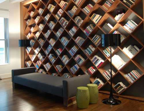 Innovative Book Shelves