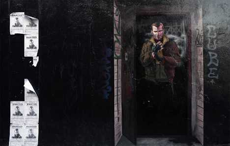 Viral Urban Graffiti - GTA IV NYC Wall Murals