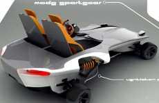 Futuristic Go-Carts