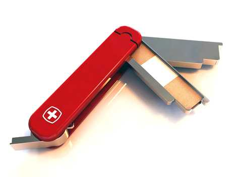 Caring Knives - Swiss Army Peace Knife