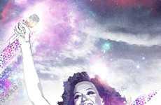 Nebula-Shrouded Star Depictions