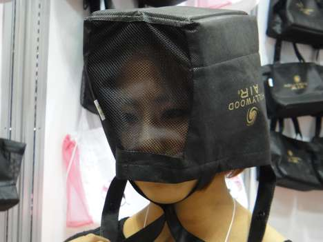 shopping bag helmet