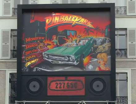 Auto Pinball Promotions - 'The Parisian Pinball Park' Does Not Award Excellence