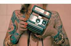 70 Modern Polaroid Projects - From Hipster Lookbooks to Updated Retro Cameras