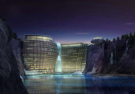Underground Theme Parks  - The Intercontinental Shimao Shanghai Wonderland is Futuristic