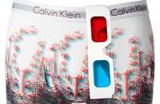 3D Underwear - Calvin Klein Launches a Collection of Eye-Popping Skivvies