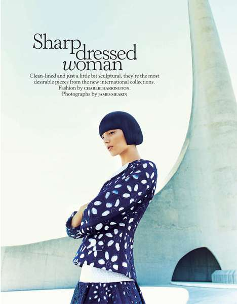 stella magazine sharp dressed woman