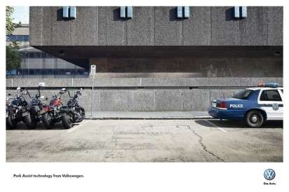 Tight Parking Spot Ads - The Volkswagen Park Assist Campaign Imagines Scary Car Situations