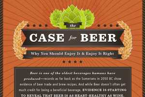The Case for Beer Infographic Reveals Little Known Facts