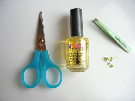 diy terrarium nails tutorial