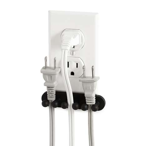 Eco-Minded Cord Collectors - The 'Plug Out Outlet Organizer' is a Simple Energy-Saving Device