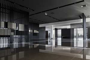 The Urbatek Showroom by CuldeSac is Modern in its Design Aesthetic